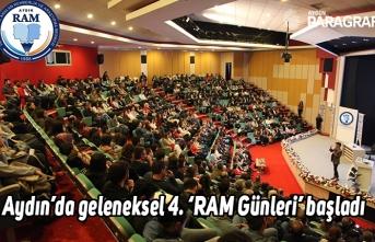 Aydın'da geleneksel 4. 'RAM Günleri' başladı