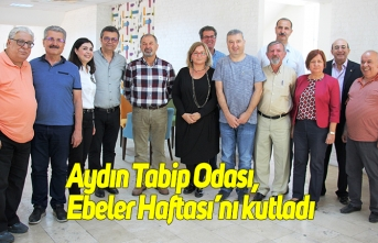 Aydın Tabip Odası, Ebeler Haftası'nı kutladı