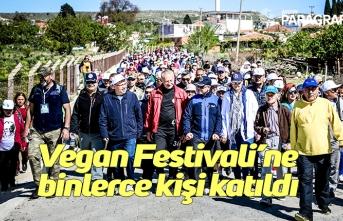 Vegan Festivali'ne binlerce kişi katıldı