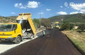 Aydın Büyükşehir Karacasu Geyre'de çalışmaları tamamlandı