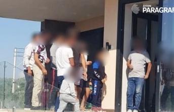 Kuşadası'nda 12 düzensiz göçmen yakalandı