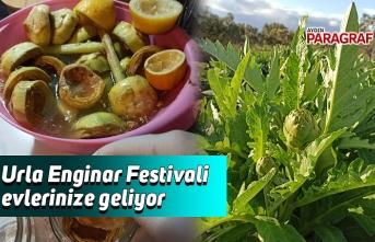 Urla Enginar Festivali evlerinize geliyor