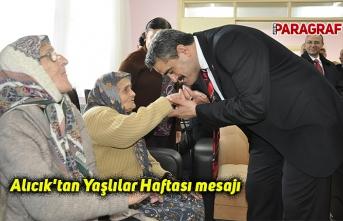 Alıcık'tan Yaşlılar Haftası mesajı