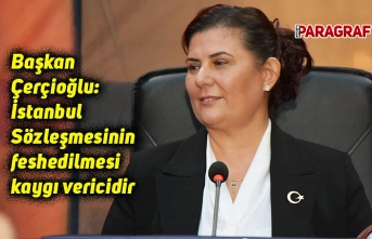 Başkan Çerçioğlu: İstanbul Sözleşmesinin feshedilmesi kaygı vericidir