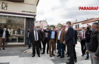 CHP Aydın Milletvekillerinden esnafa destek ziyareti