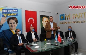 CHP Aydın Milletvekillerinden Millet İttifakı'na ziyaret