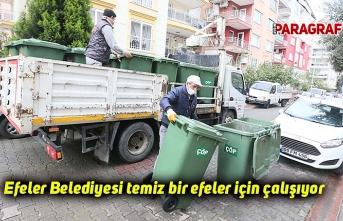 Efeler Belediyesi temiz bir efeler için çalışıyor