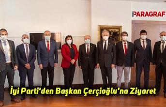 İyi Parti'den Başkan Çerçioğlu'na Ziyaret