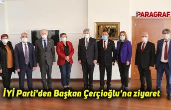 İYİ Parti'den Başkan Çerçioğlu'na ziyaret
