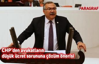 CHP'den avukatların düşük ücret sorununa çözüm önerisi