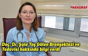 Doç. Dr. Şule Taş Gülen Bronşektazi ve Tedavisi hakkında bilgi verdi