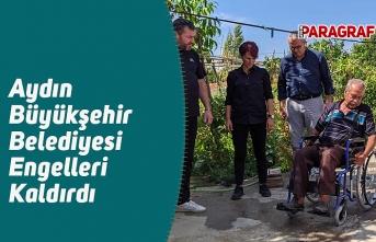 Aydın Büyükşehir Belediyesi Engelleri Kaldırdı
