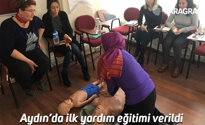 Aydın'da ilk yardım eğitimi verildi