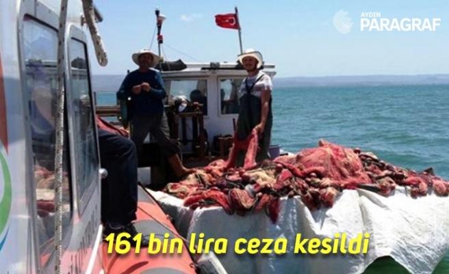 Aydın'da su ürünleri denetiminde 161 bin lira ceza kesildi