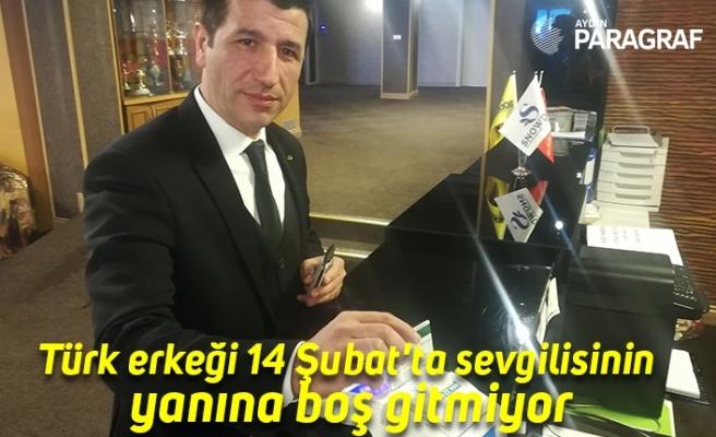 Türk erkeği 14 Şubat'ta sevgilisinin  yanına boş gitmiyor