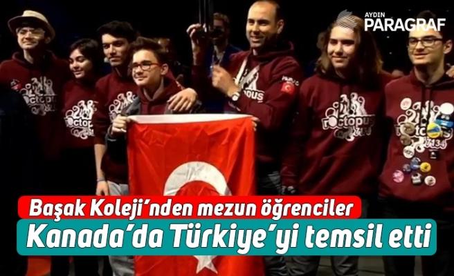 Başak Koleji'nden mezun öğrenciler Kanada'da Türkiye'yi temsil etti