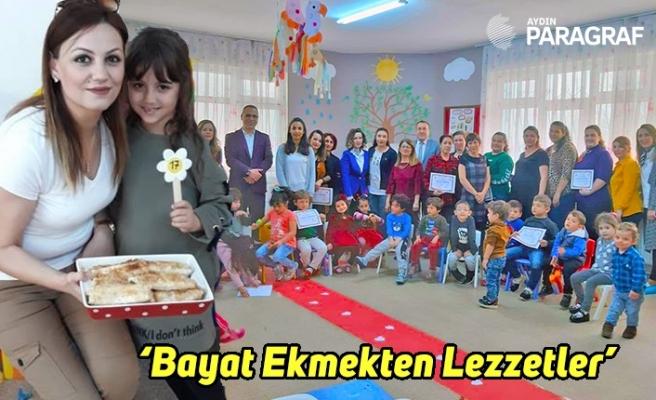 'Bayat Ekmekten Lezzetler' adlı yarışma düzenlendi