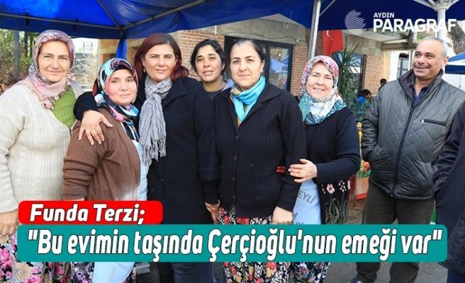"""Funda Terzi; """"Bu evimin taşında Özlem Çerçioğlu'nun emeği var"""""""