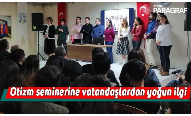 Otizm seminerine vatandaşlardan yoğun ilgi
