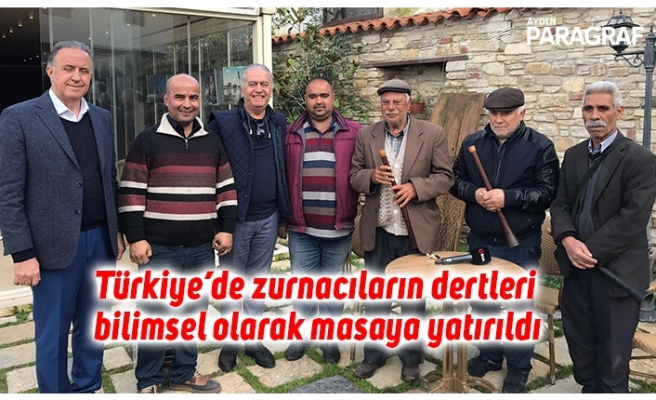 Türkiye'de zurnacıların dertleri bilimsel olarak masaya yatırıldı