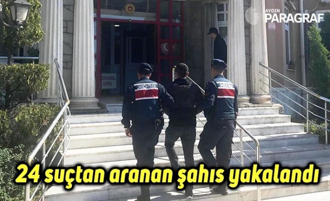 24 suçtan aranan şahıs yakalandı