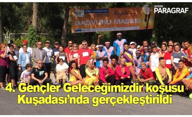 4. Gençler Geleceğimizdir koşusu Kuşadası'nda gerçekleştirildi