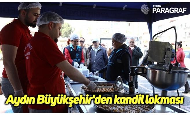 Aydın Büyükşehir'den kandil lokması