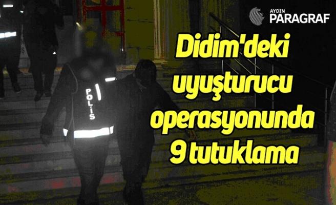 Didim'deki uyuşturucu operasyonunda 9 tutuklama