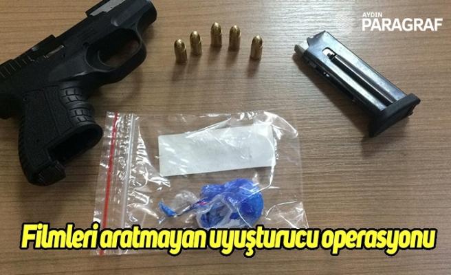 Filmleri aratmayan uyuşturucu operasyonu