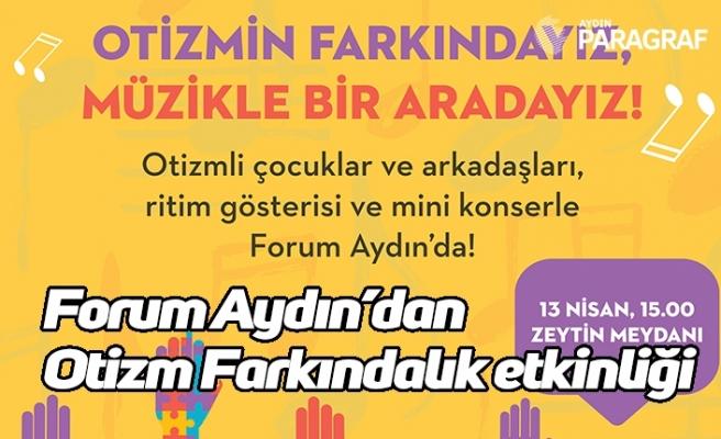 Forum Aydın'dan Otizm Farkındalık etkinliği