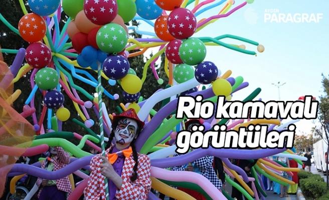 Rio karnavalı görüntüleri