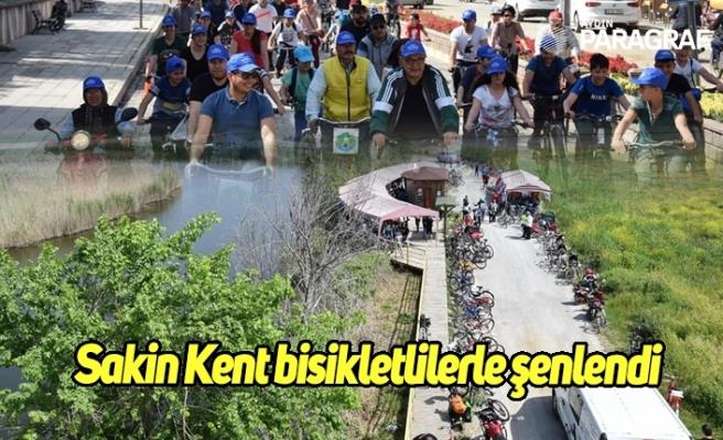 Sakin Kent bisikletlilerle şenlendi