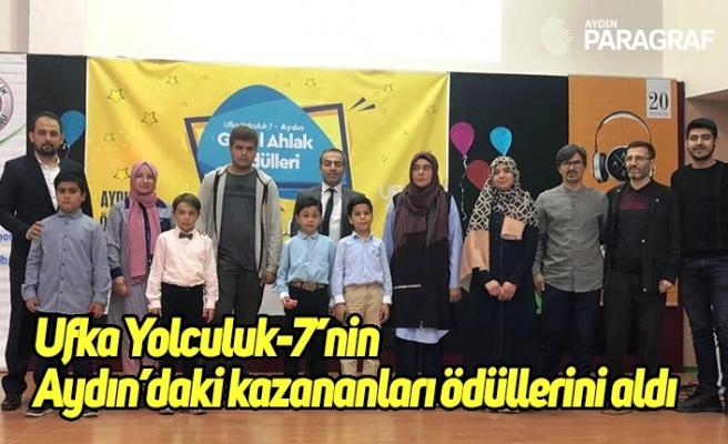 Ufka Yolculuk-7'nin Aydın'daki kazananları ödüllerini aldı