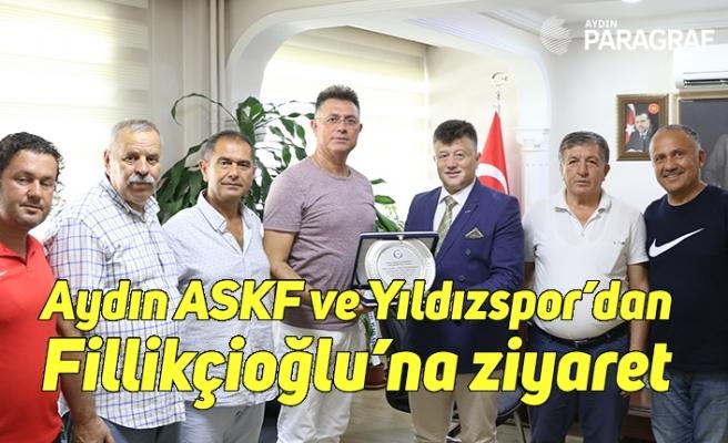 Aydın ASKF ve Yıldızspor'dan Fillikçioğlu'na ziyaret