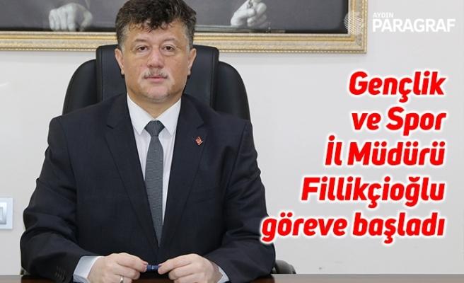 Gençlik ve Spor İl Müdürü Fillikçioğlu göreve başladı