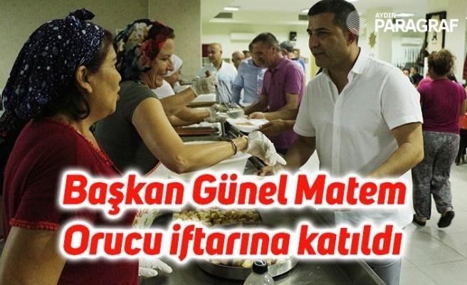 Başkan Günel Matem Orucu iftarına katıldı