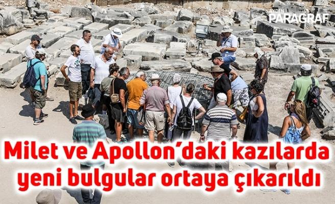 Milet ve Apollon'daki kazılarda yeni bulgular ortaya çıkarıldı