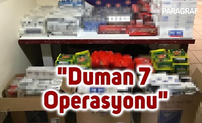 """81 ilde eş zamanlı """"Duman 7 Operasyonu"""""""