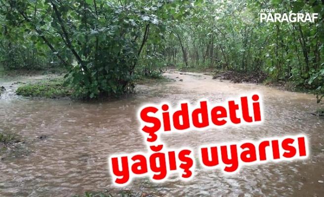 Üreticilere şiddetli yağış uyarısı