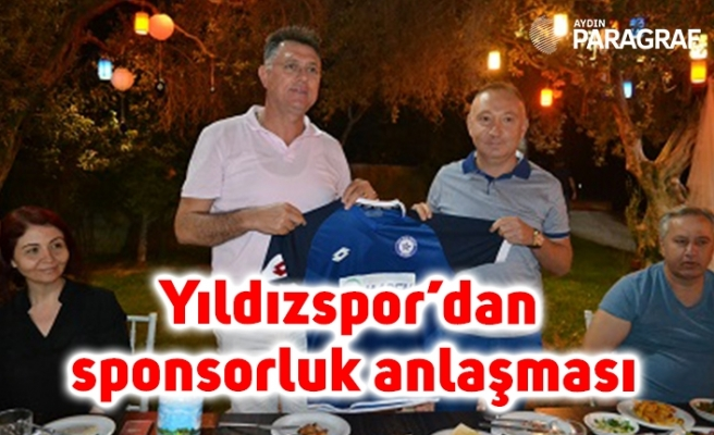 Yıldızspor'dan sponsorluk anlaşması
