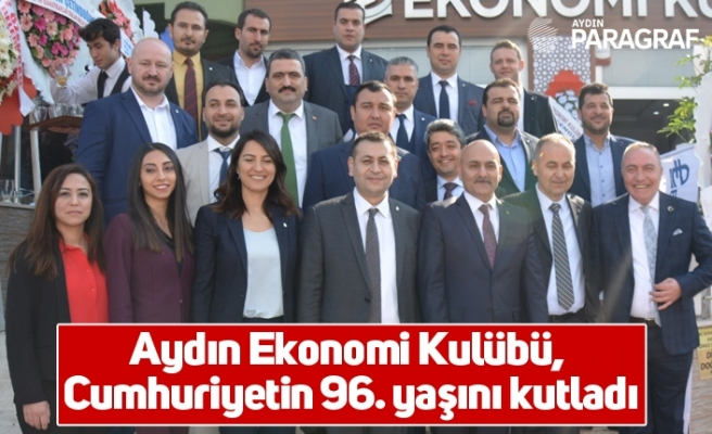 Aydın Ekonomi Kulübü, Cumhuriyetin 96. yaşını kutladı