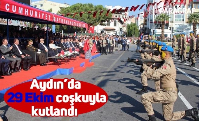 Aydın'da 29 Ekim coşkuyla kutlandı
