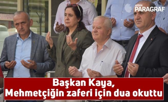 Başkan Kaya, Mehmetçiğin zaferi için dua okuttu