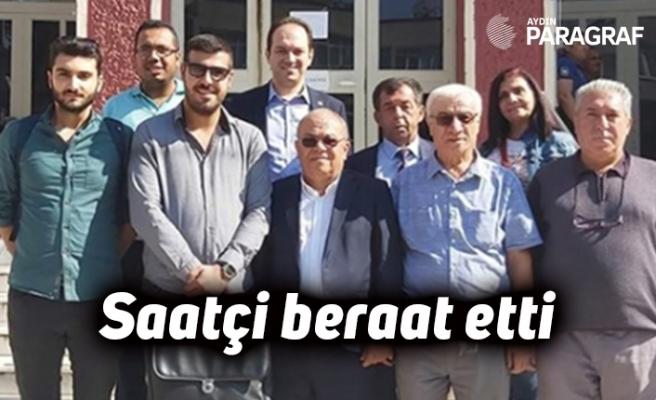 CHP eski il başkanı Saatçi beraat etti