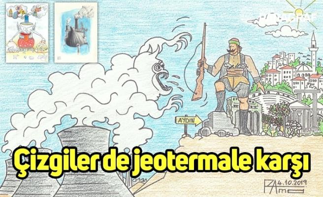 Çizgiler de jeotermale karşı