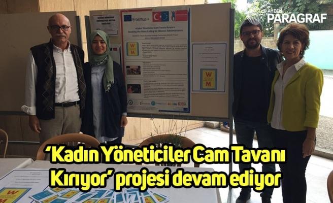 'Kadın Yöneticiler Cam Tavanı Kırıyor' projesi devam ediyor