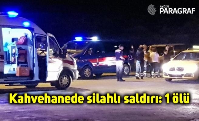 Kahvehanede silahlı saldırı: 1 ölü