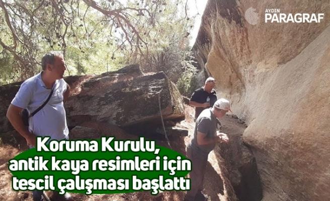 Koruma Kurulu, antik kaya resimleri için tescil çalışması başlattı