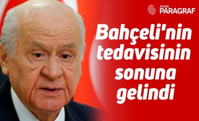 """MHP'li Yalçın: """"Bahçeli'nin tedavisinin sonuna gelindi"""""""