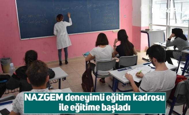 NAZGEM deneyimli eğitim kadrosu ile eğitime başladı